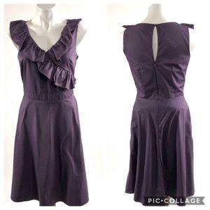 Xhilaration Formal fancy purple A line prom dress